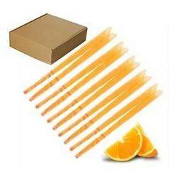100 Velas de oído aromática naranja