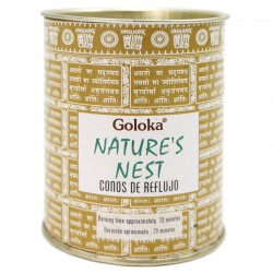6 Packs 18 conos incienso reflujo Goloka - natures nest