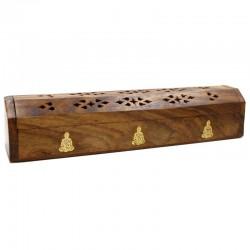 2 Caja de humo madera Buda