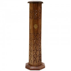 2 Torre de humo madera mano de Fátima