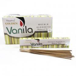 12 packs Incienso Golden - vainilla 15 gr