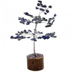 Árbol de gemas Feng Shui - 100 gemas lapislázuli