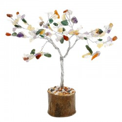 Árbol de gemas Feng Shui - 100 gemas mix