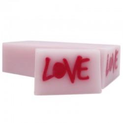 Jabón diseño love rosa - cava
