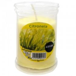 12 Velas citronela 8.5x6cm