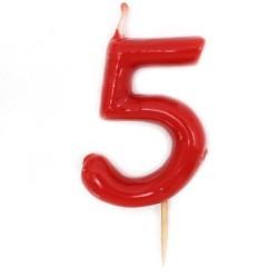 12 Velas número 5
