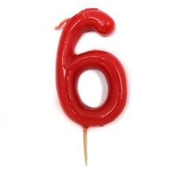 12 Velas número 6
