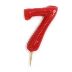 12 Velas número 7
