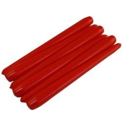 50 Velas candelabro cónica - roja