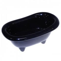 4 Mini bañera cerámica - negra