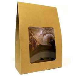 12 Cajas regalo ventana - 24x16x8cm