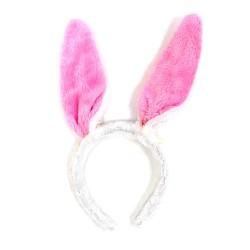 12 Diademas fiesta - orejas conejo