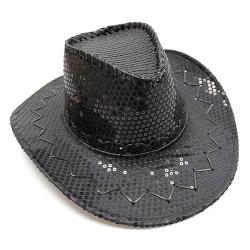 4 Sombreros vaquera - lentejuelas