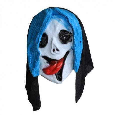 4 Máscaras miedo - cráneos muertos vivientes