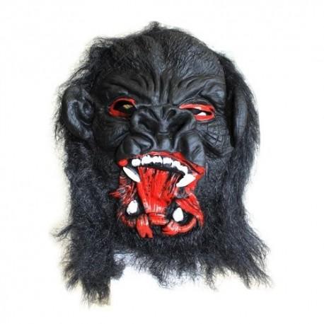 4 Máscaras miedo - cabeza gorila