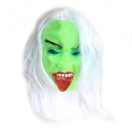 4 Máscaras miedo - chica zombie