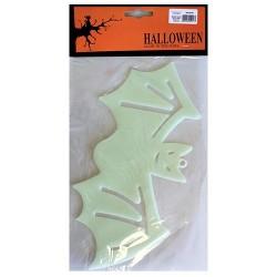 6 Big Halloween Glow Pack - Murciélago