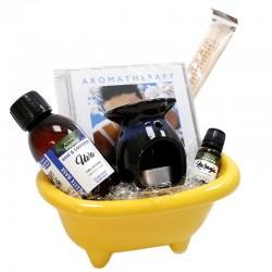 Cesta regalo aromaterapia - spa