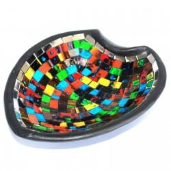 Soporte potpourri mosaico - estilo marroquí corazón L