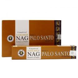 12 packs incienso Golden - Palo santo 15 gr