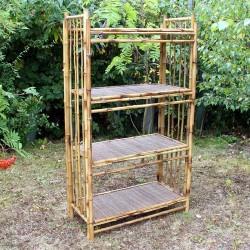 Expositores bambú grande - 4 baldas
