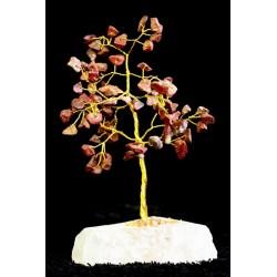Árbol 80 gemas - jaspe rojo