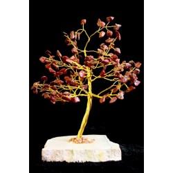 Árbol 160 gemas - jaspe rojo