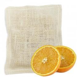 5 Jabones lufa exfoliante - naranja