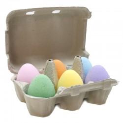 12 Bombas baño huevo - Mix
