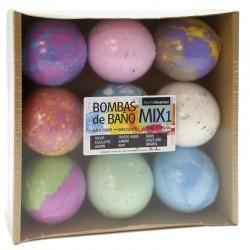 9 Bombas baño - Mix 1