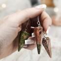 Péndulos mágicos de piedras