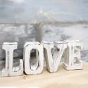 Soportes de vela madera love