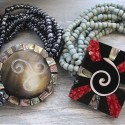 Pulseras perlas y nácar