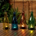 Faroles cristal velas night light