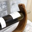 Soporte vino madera
