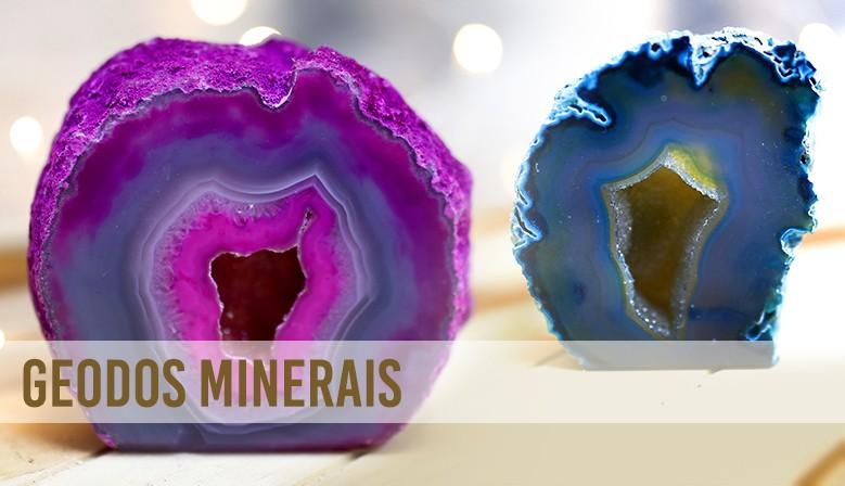 geodos minerais