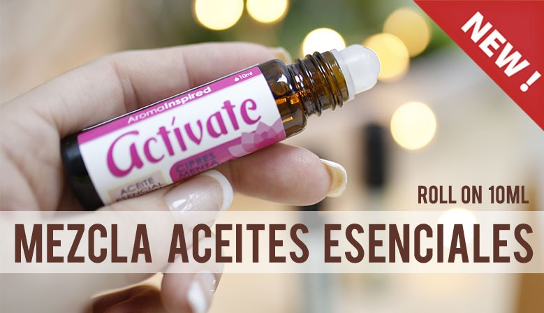 Mezcla de aceites esenciales Roll On 10ml