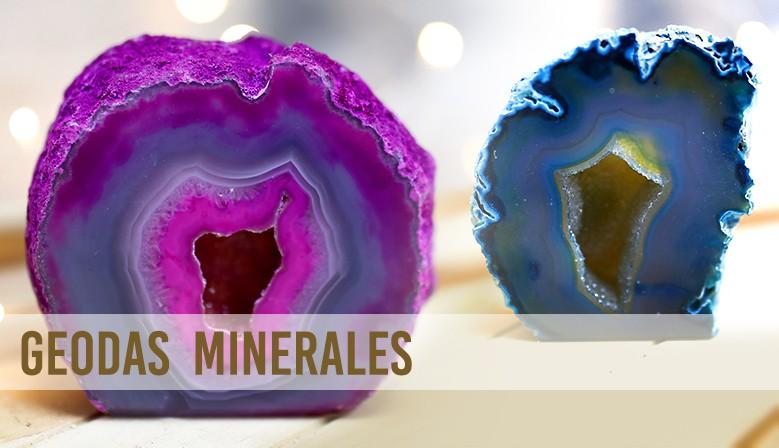 Geodas minerales